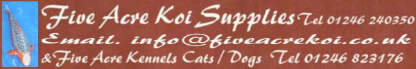 Five Acre Koi Supplies